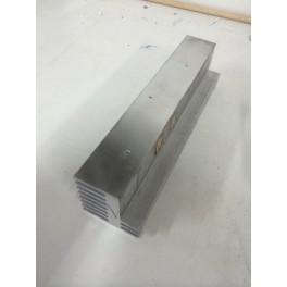 Disipador de aluminio 24x5,5x5,5cm