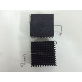 Disipadores de calor aluminio tamaño 4,7x4,7x1,6cm