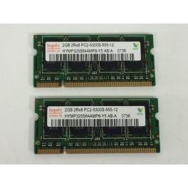 Memoria 2gb para portatiles Hynix PC2-5300X-555-12