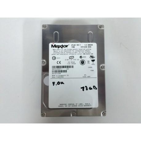 Disco Duro Maxtor 73 Gb Scsi 8D073J00257L1