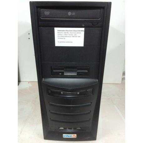 Ordenador Vina Core 2 Duo 2130 Mhz, 80 Gb, 1000 Mb