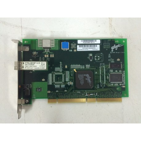 Qlogic ftrj-8519f1-2.5 pci fiber cards Qlogic