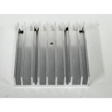Disipador de aluminio 7x7x1,5