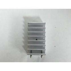 Disipador de aluminio 2,5x4,5x1