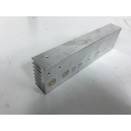 Disipador de aluminio 20x5,2x2,8