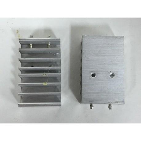 Disipador de aluminio 3x5x1