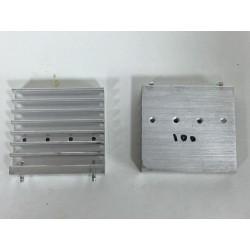 Disipador de aluminio 5,3x5x1