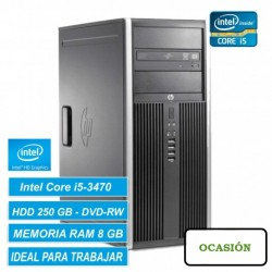 Ordenador HP ELITE 8300 CORE i5 8GB