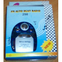 Mini Radio de bolsillo con luz