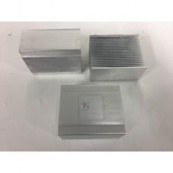 Disipador de calor de aluminio 83x67x40mm