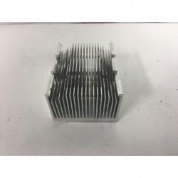 Disipador de calor de aluminio 76x61x40mm