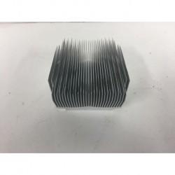Disipador de calor de aluminio 91x75x41mm