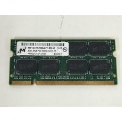 Memoria para portatil 2gb Mt MT16HTF25664HY-800J1