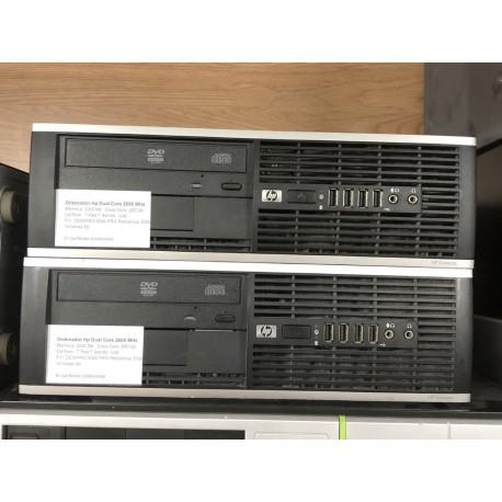 Ordenador Hp Dual Core 2600 Mhz, 250 Gb, 2000 Mb