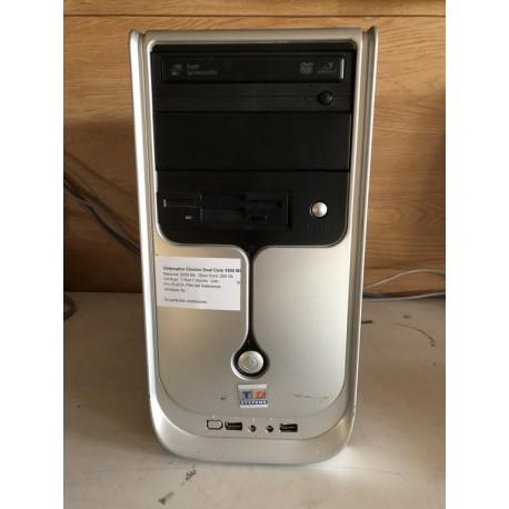 Ordenador Clonico Dual Core 1800 Mhz, 250 Gb, 2000 Mb
