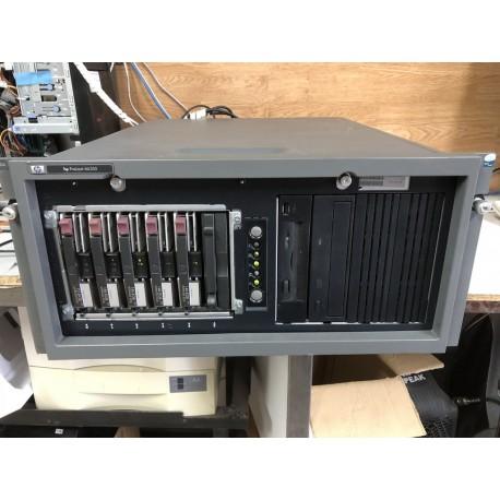 Servidor proliant ml350 g4 Compaq Xeon 3000 Mhz, 4x146 + 1x72 Gb, 4096 Mb