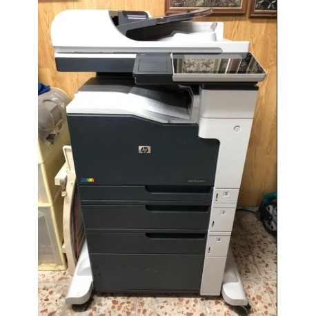 Impresora HP láser jet 700 color MFP M775