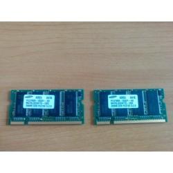 Memoria DDR 256Mb, PC2700...