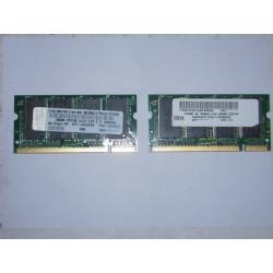 Memoria 256Mb DDR 333 PC2700 CL2.5 para Portatiles