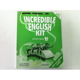 Incredible english kit. activity book 1. 2ª edition. OXFORD 978-0-19-444163-6