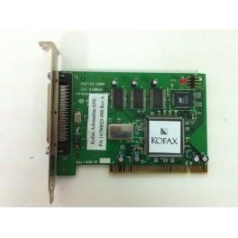 Kofax adrenaline 650ipv asb3940uw 16700014-000 scsi scanner host adapter card